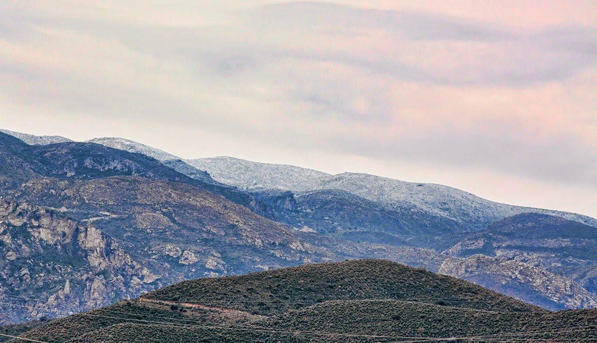 Nieve en Sierra Cabrera